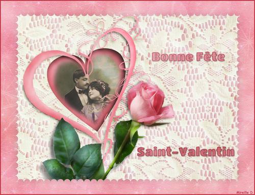 Coeur Dentelle pour Saint-Valentin