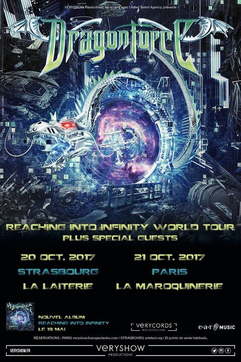 DRAGONFORCE - 2 dates en France en octobre