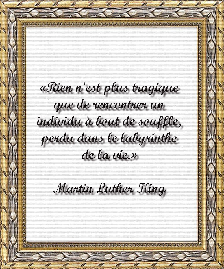 Citations 2:  Un égoïsme sain de Martin Luther King