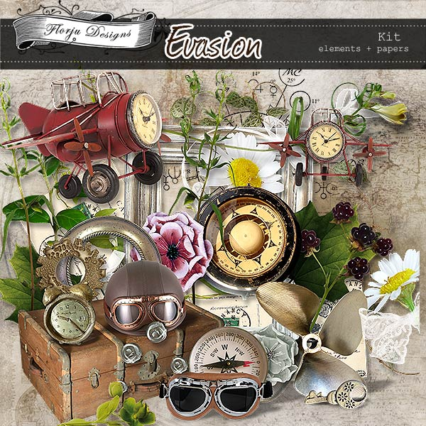 Evasion { Kit PU } by Florju Designs
