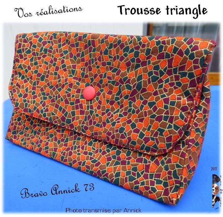 Trousse Triangle : Bravo Annick73
