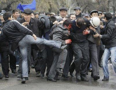 المذابح بكيرغستان