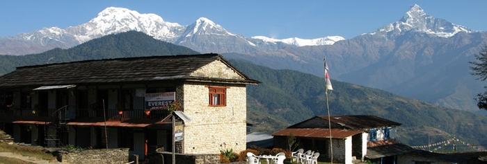 e Balcon De L'Annapurnas Au Népal Un Des Joyaux Du Népal...
