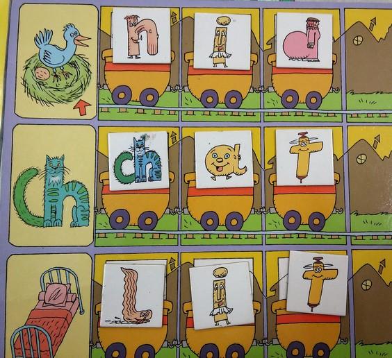 GS-CP : Images, mots, phrases et lettres