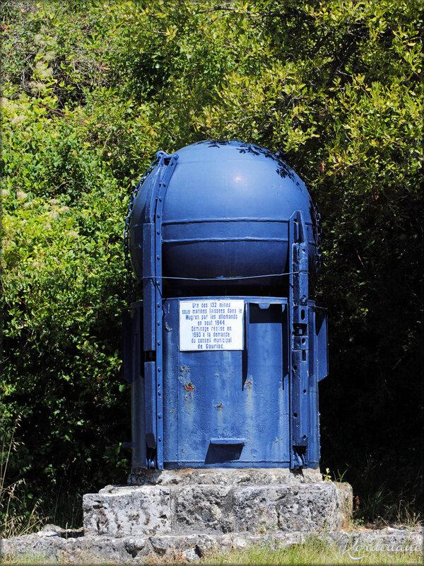 Mine allemande découverte dans l'estuaire de la Gironde
