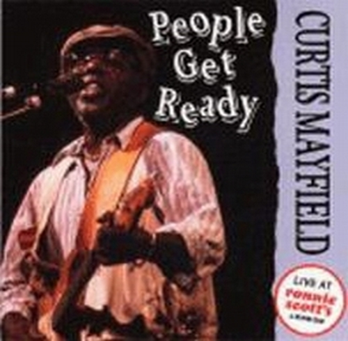 "1988 : CD "" People Get Ready : Live At Ronnie Scott's "" Silverline Records 76628 4522 [ US ]"