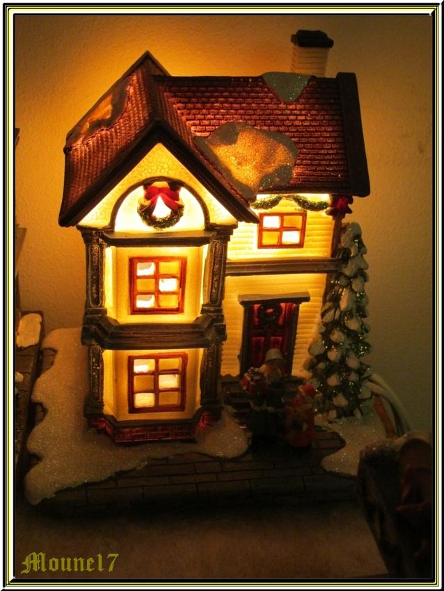 Mon petit village de Noël
