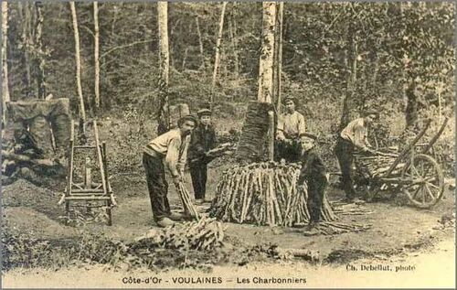 brouette de charbonniers .