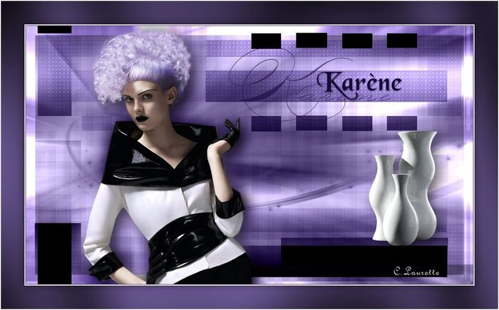 Karène original + variante