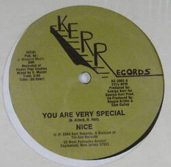 Nice - You Are Very Special