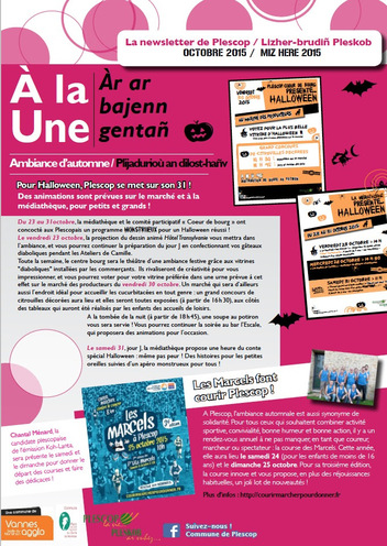 """Les """"Marcels à Plescop"""" - Revue de presse 2015..."""