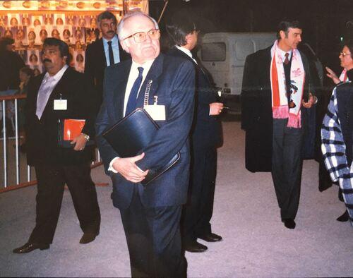 Jean Richard à Monaco  ( archives et photos Jean Arnaud)