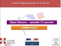 Open de Savoie Albertville 12/01/2013