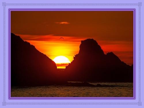 Le soleil levant