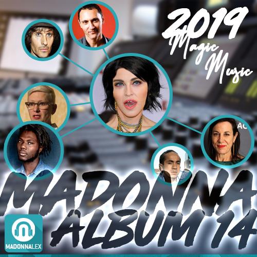 Autour de Madonna, pour son nouvel album, l'équipe se précise