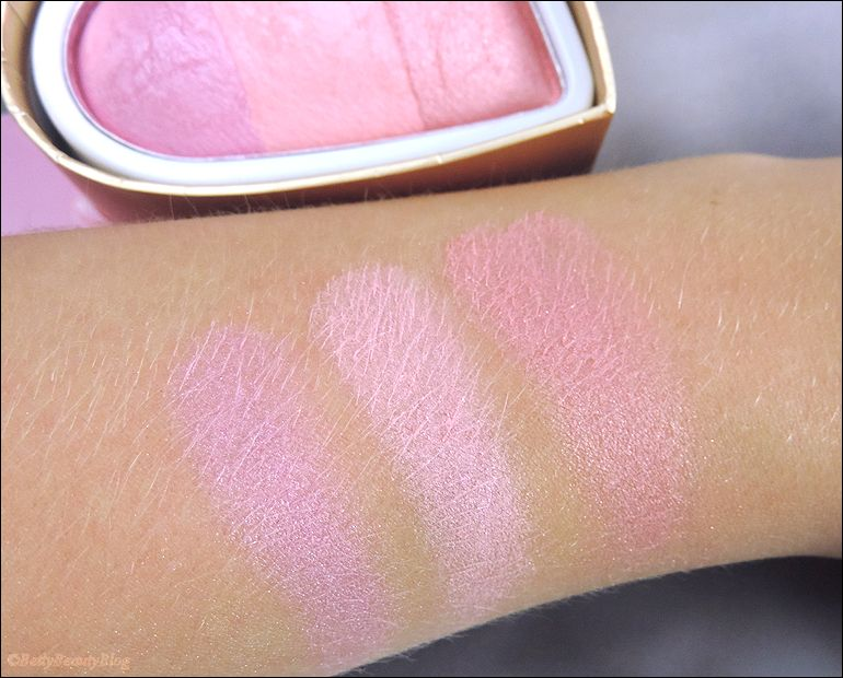 Un amour de blush par makeup révolution