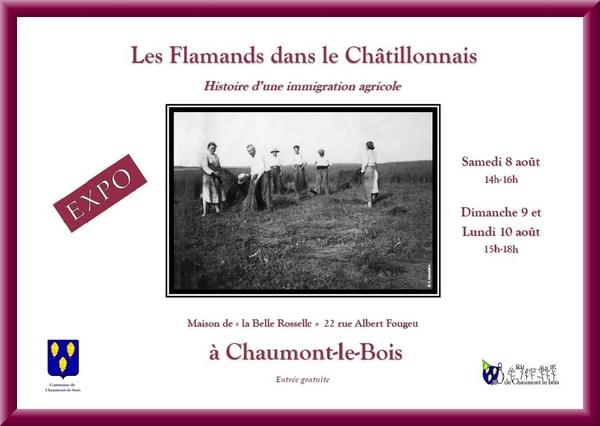 """""""Les Flamands dans le Châtillonnais"""", une exposition à voir à Chaumont le Bois"""