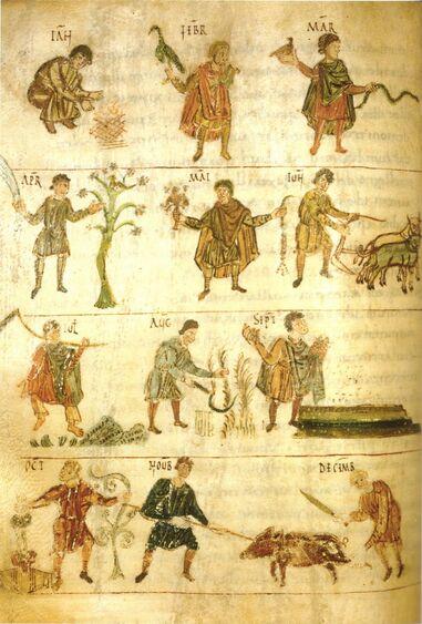 Le capitulaire de Villis - la réforme carolingienne à l'origine de nos jardins et de la pharmacopée médiévale