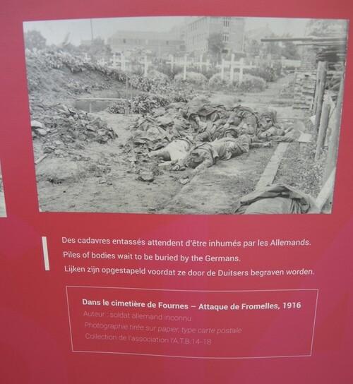 Centenaire de la bataille de la Tête de Sanglier- RICHEBOURG 05-exposition