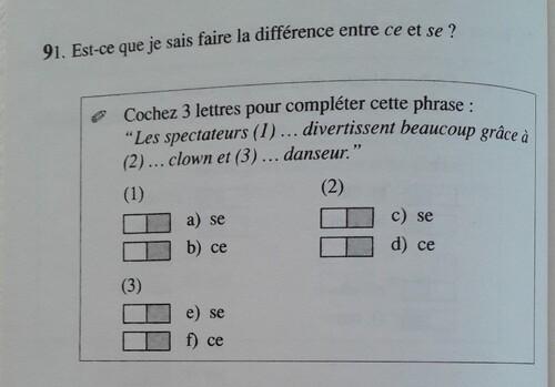 A / Ce ou Se