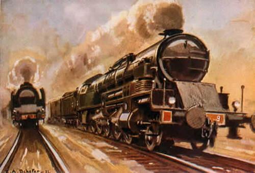 Peintures et Peintres ferroviaires