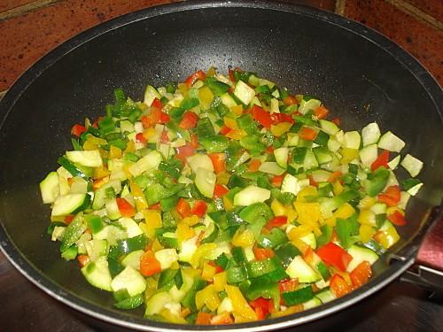 Crozets aux légumes 2