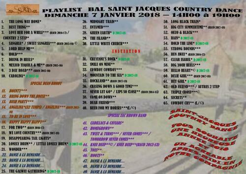 affiche et playlist saint jacques de la lande(35)