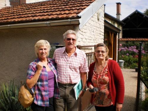 Grâce au blog, le Docteur Harold Chadwick a retrouvé l'itinéraire de son père en Châtillonnais durant la seconde Guerre Mondiale !
