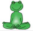 Calme et attentif comme une grenouille...