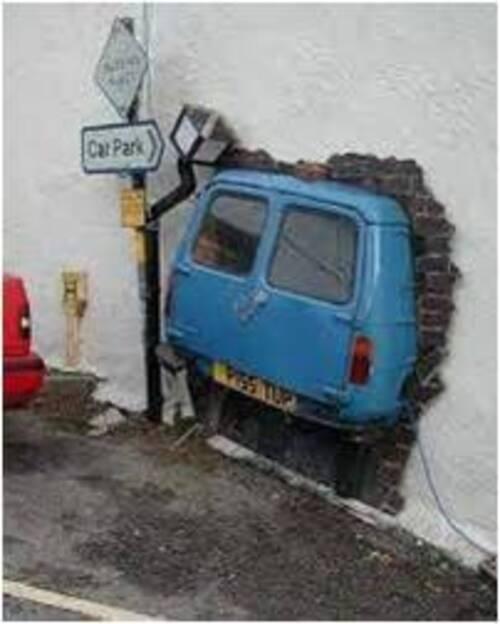 Des Murs en trompe l'oeil..(1)