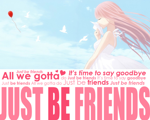 Megurine Luka Just Be Friend