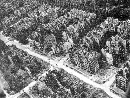 ALLEMAGNE - l'après-guerre
