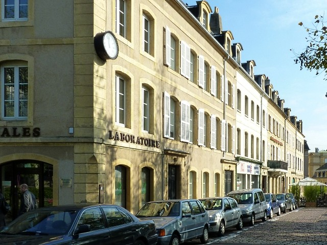 La place Saint-Nicolas Metz 12 Marc de Metz 2011