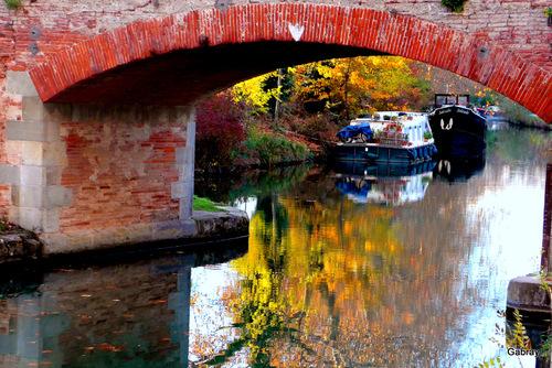 Canal du Midi: un pont!