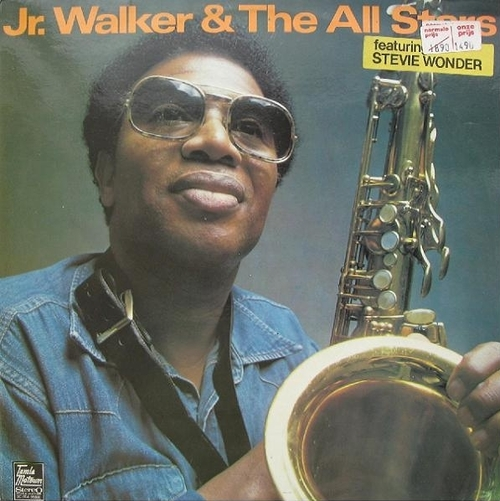 "Jr. Walker & The All Stars : Album ""  Jr. Walker & The All Stars Featuring Stevie Wonder "" Soul Records S6-742S1 [ US ] Unissued"