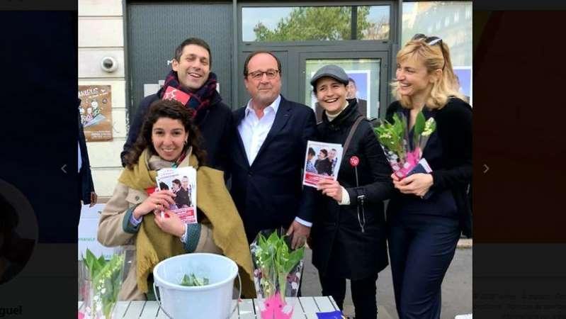 1er Mai: la visite inattendue de François Hollande à des militants communistes !
