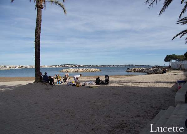 Promenade à Golfe Juan