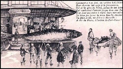 La sardine qui a bouché le port de Marseille