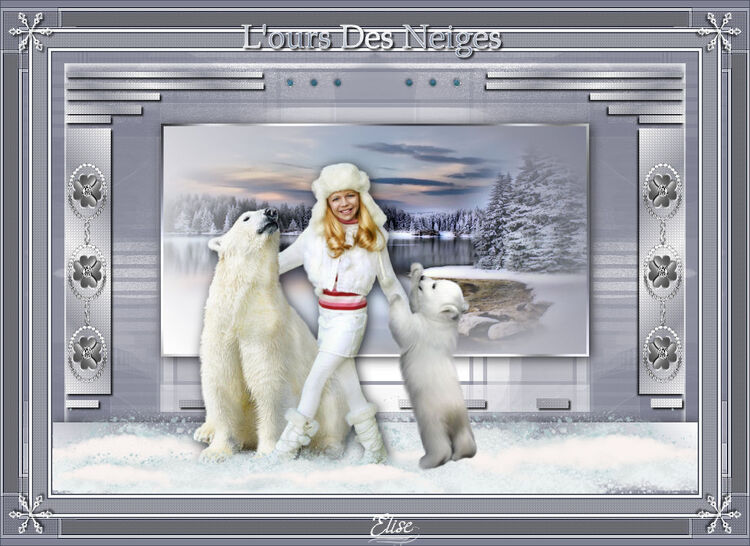 L'ours des neiges de Cloclo  psp