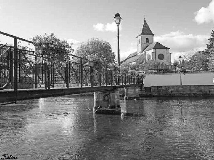 Mirebeau sur Béze ( promenade faite week-end de  pentecôte )