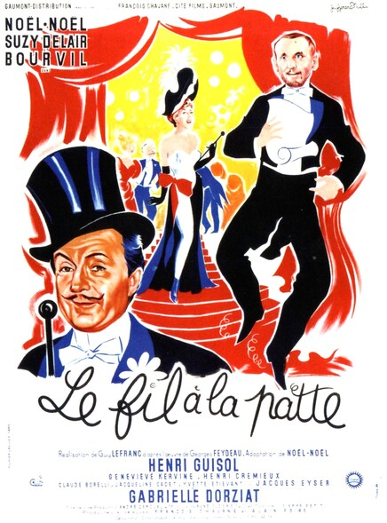 LE FIL A LA PATTE - BOX OFFICE BOURVIL 1955