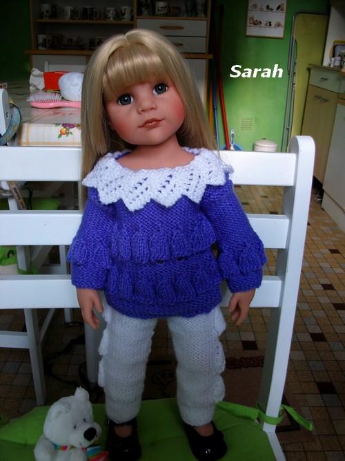 Sarah, en beauté hivernale !