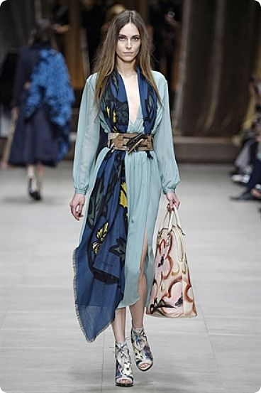 Foulards Burberry Ses Prorsum Et Fashion Week London IvY7mbgyf6
