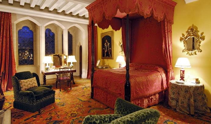 ARUNDEL #2 Le château : chambre à coucher, photo empruntée au Web !!!