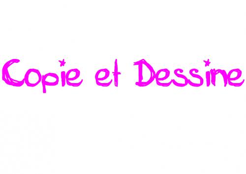 Copie, (Devine) et Dessine CP CE1