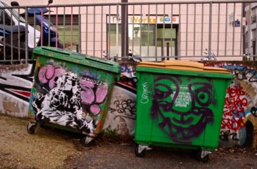 poubelle Street-art Frigo 8