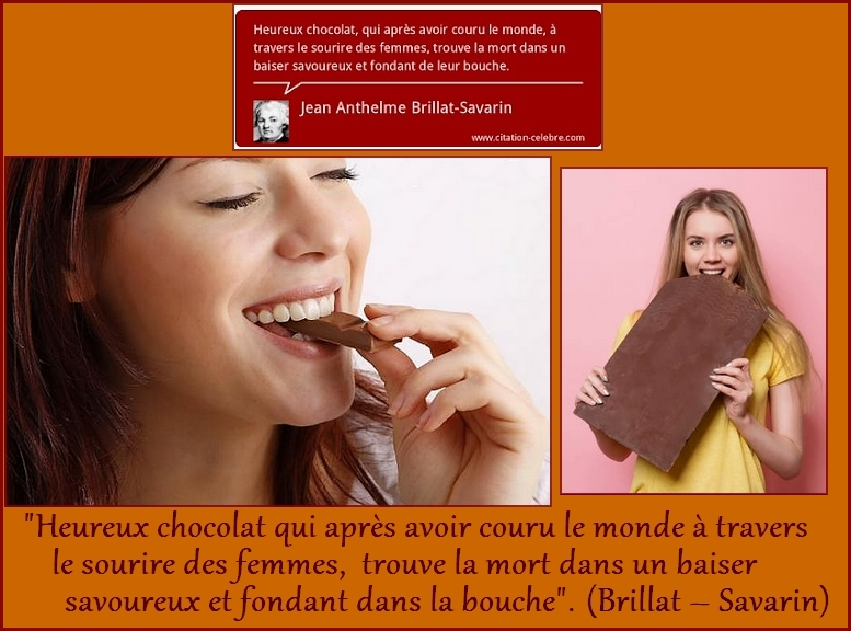 "Citations ""Chocolat"" et ""Cuisine"""