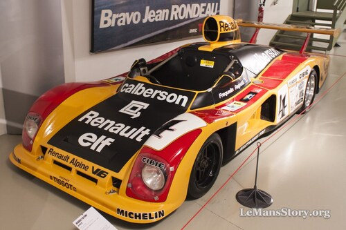"""Renault Alpine A 442 Le mans """"Solido"""" 1/43ème."""