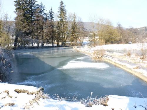 Ancien moulin de Lasserra, Suran gelé
