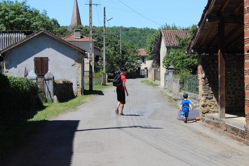 Balade dans mon village